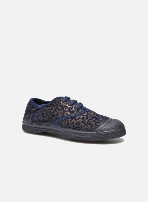 Sneakers Bensimon Tennis Gold Leopard E Azzurro vedi dettaglio/paio