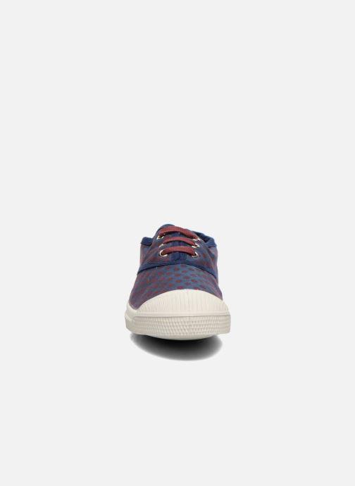 Sneaker Bensimon Tennis Pois Jacquard E blau schuhe getragen