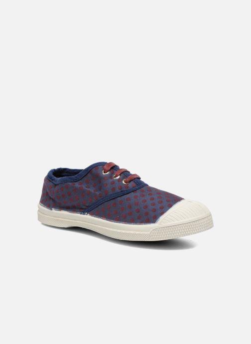 Sneaker Bensimon Tennis Pois Jacquard E blau detaillierte ansicht/modell