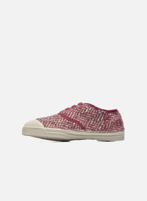 Trainers Bensimon Tennis Girly Tweed E Pink front view
