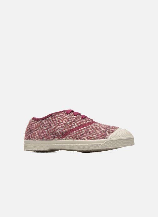 Sneakers Bensimon Tennis Girly Tweed E Roze achterkant