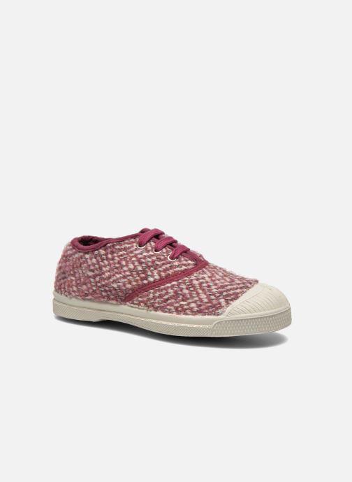Sneakers Bensimon Tennis Girly Tweed E Roze detail