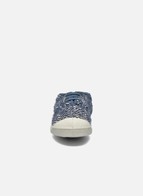 Sneakers Bensimon Tennis Girly Tweed E Blauw model