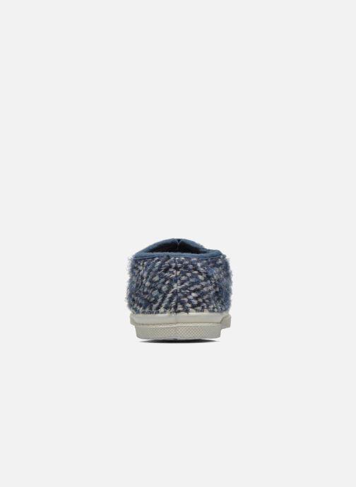 Sneakers Bensimon Tennis Girly Tweed E Blauw rechts
