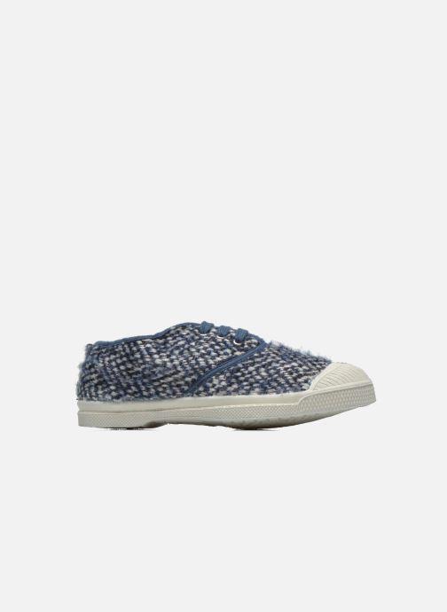 Sneakers Bensimon Tennis Girly Tweed E Blauw achterkant