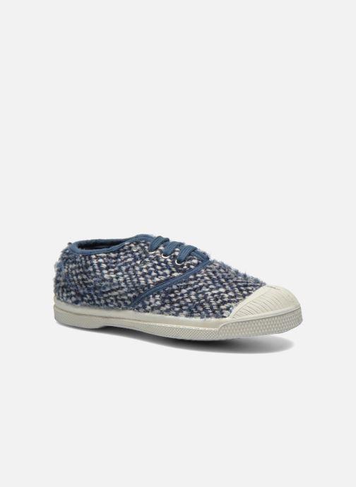 Sneakers Bensimon Tennis Girly Tweed E Blauw detail