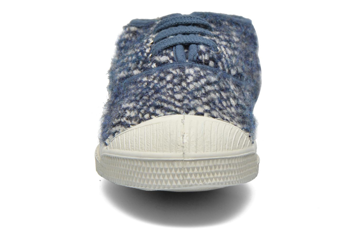 Trainers Bensimon Tennis Girly Tweed E Blue model view