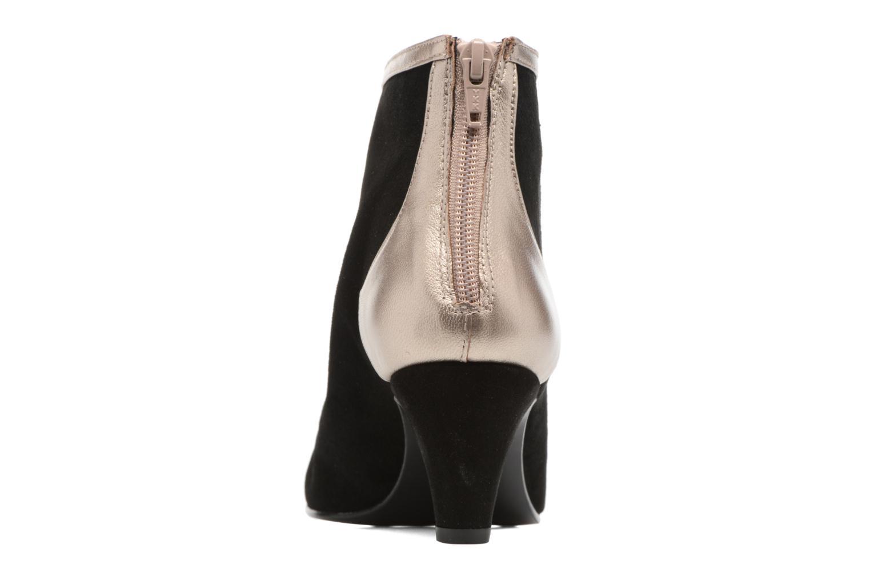 Bottines et boots Anna Volodia Mirian Argent vue droite