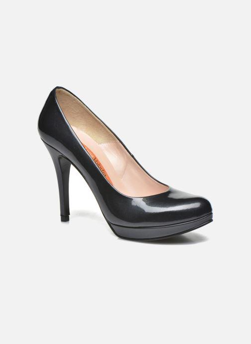High heels Anna Volodia Copla Black detailed view/ Pair view