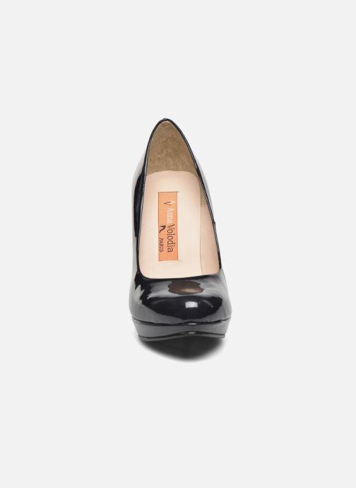 Escarpins Anna Volodia Copla Bleu vue portées chaussures