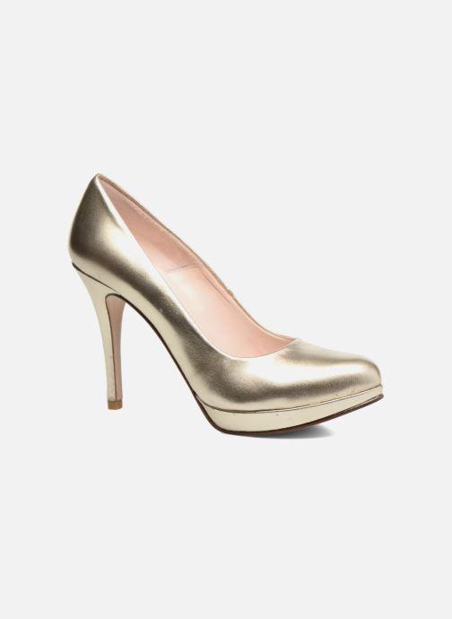 Zapatos de tacón Anna Volodia Copla Oro y bronce vista de detalle / par