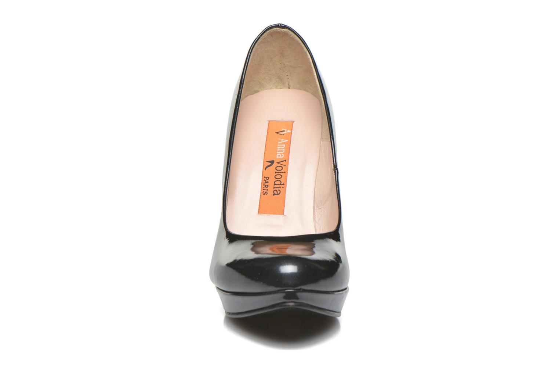 High heels Anna Volodia Copla Black model view