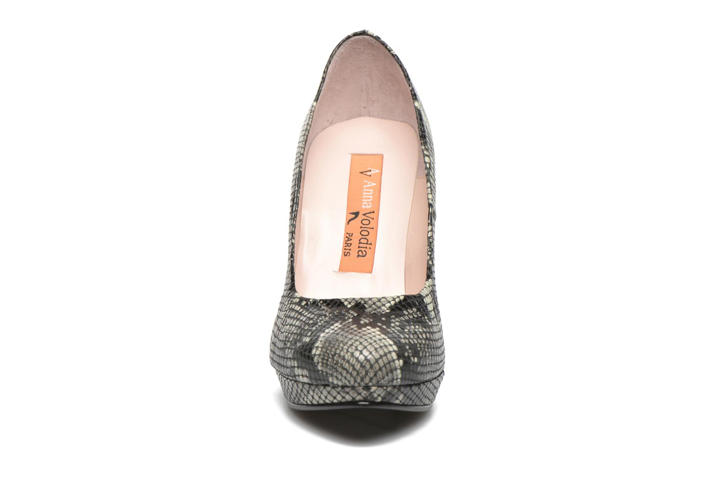 High heels Anna Volodia Copla Beige model view