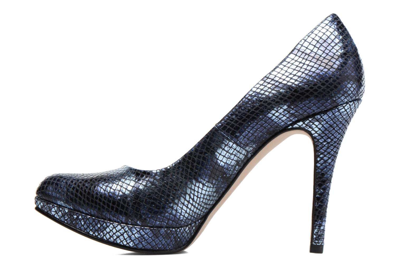 High heels Anna Volodia Copla Blue front view