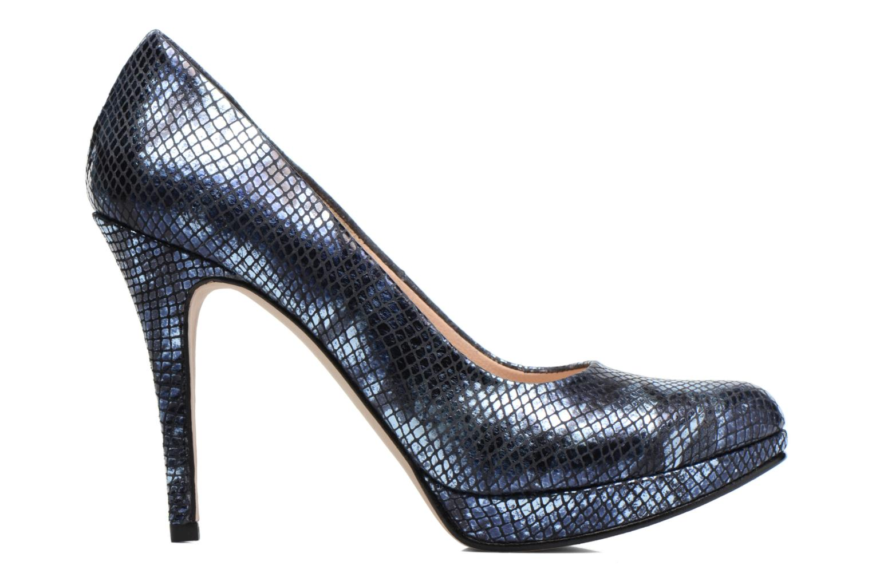 High heels Anna Volodia Copla Blue back view