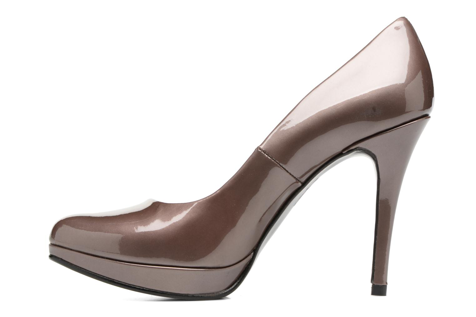 High heels Anna Volodia Copla Brown front view