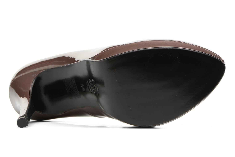 Zapatos de tacón Anna Volodia Copla Marrón vista de arriba