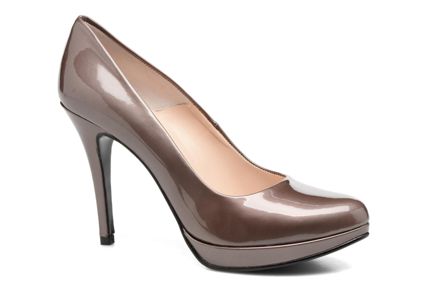 High heels Anna Volodia Copla Brown detailed view/ Pair view