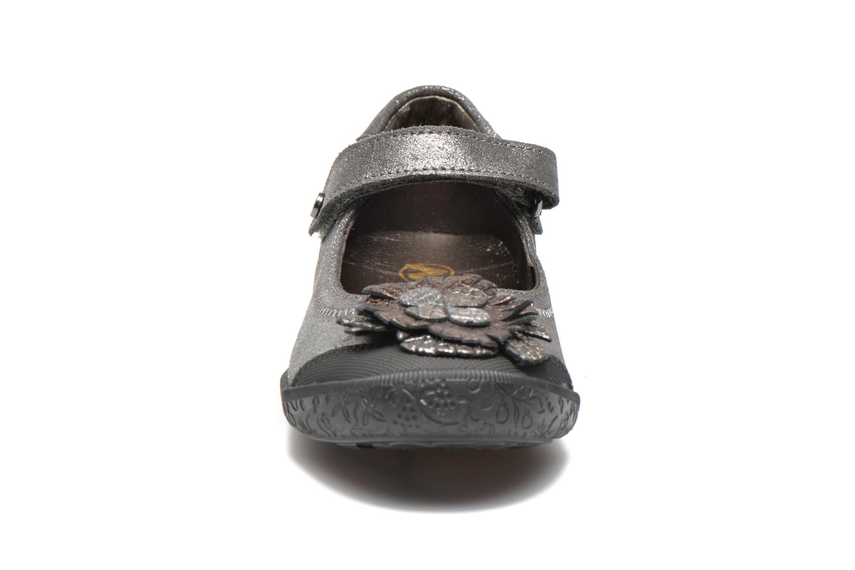 Ballerines Naturino Agustina 3784 Argent vue portées chaussures