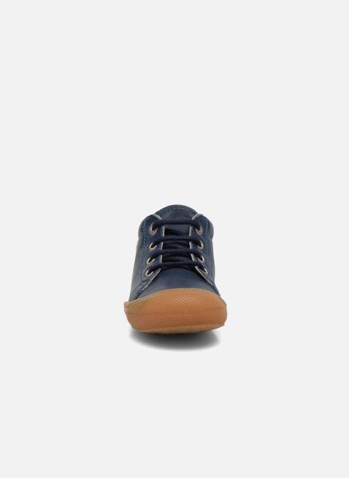 Scarpe con lacci Naturino Cocoon Azzurro modello indossato