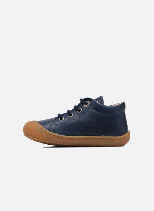 Zapatos con cordones Naturino Cocoon Azul vista de frente