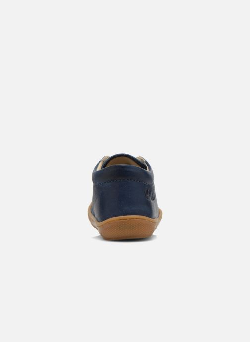 Schnürschuhe Naturino Cocoon blau ansicht von rechts
