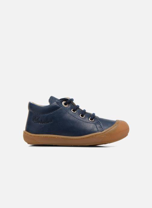 Zapatos con cordones Naturino Cocoon Azul vistra trasera