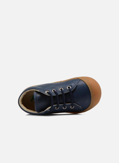 Chaussures à lacets Naturino Cocoon Bleu vue gauche