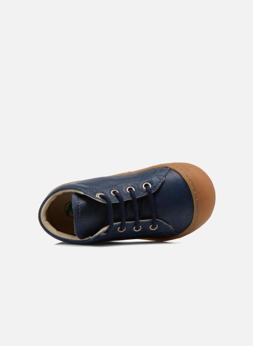 Zapatos con cordones Naturino Cocoon Azul vista lateral izquierda