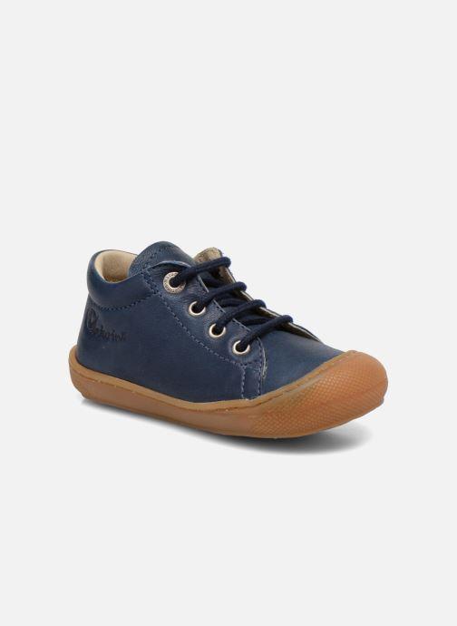 Snøresko Naturino Cocoon Blå detaljeret billede af skoene