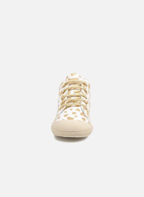 Chaussures à lacets Naturino Cocoon Blanc vue portées chaussures