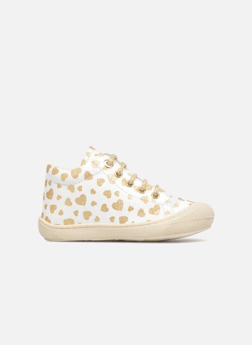 Chaussures à lacets Naturino Cocoon Blanc vue derrière