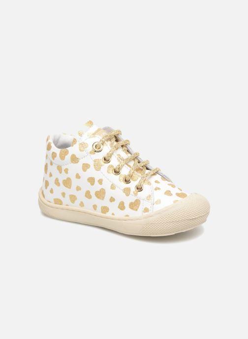Chaussures à lacets Naturino Cocoon Blanc vue détail/paire