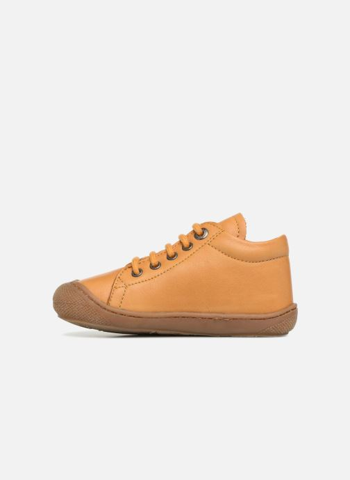 Chaussures à lacets Naturino Cocoon Jaune vue face