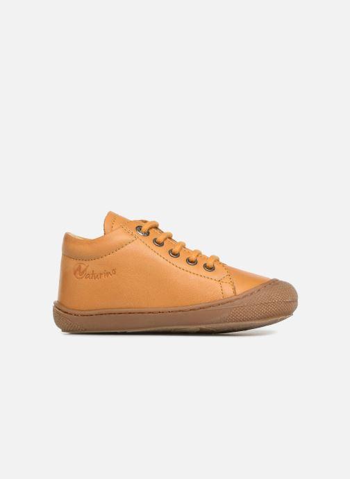 Zapatos con cordones Naturino Cocoon Amarillo vistra trasera