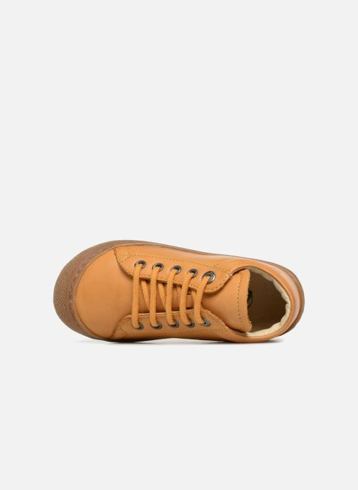 Zapatos con cordones Naturino Cocoon Amarillo vista lateral izquierda