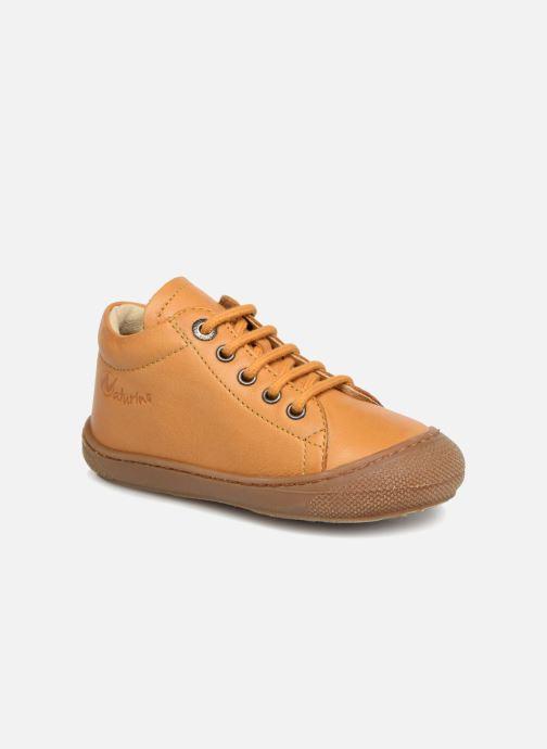 Chaussures à lacets Naturino Cocoon Jaune vue détail/paire