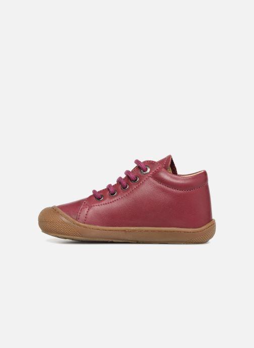 Zapatos con cordones Naturino Cocoon Rosa vista de frente