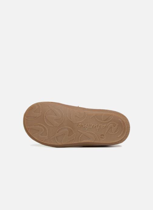 Chaussures à lacets Naturino Cocoon Rose vue haut