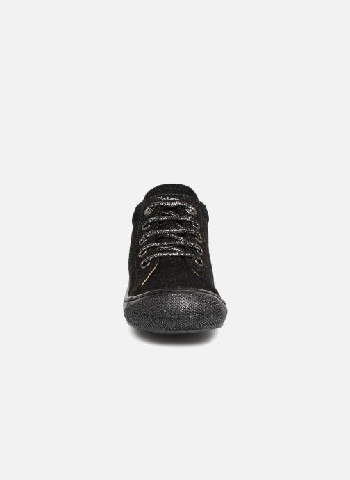 Chaussures à lacets Naturino Cocoon Noir vue portées chaussures