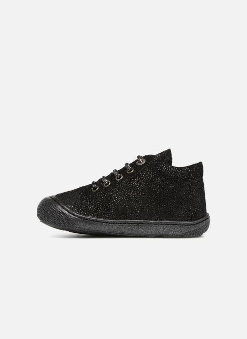 Chaussures à lacets Naturino Cocoon Noir vue face