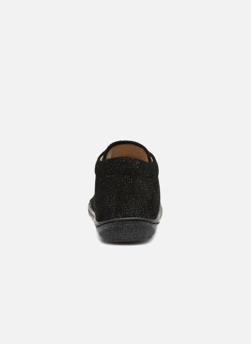 Chaussures à lacets Naturino Cocoon Noir vue droite