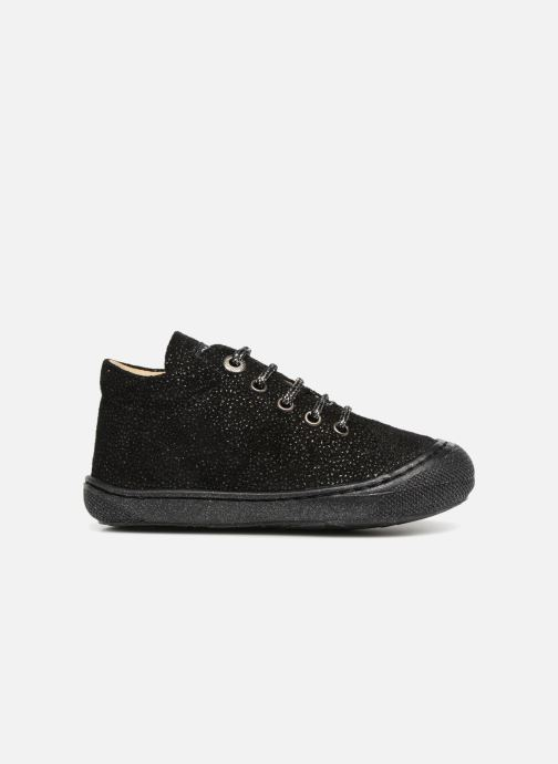Chaussures à lacets Naturino Cocoon Noir vue derrière