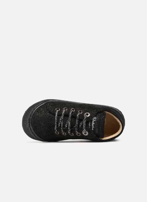 Chaussures à lacets Naturino Cocoon Noir vue gauche
