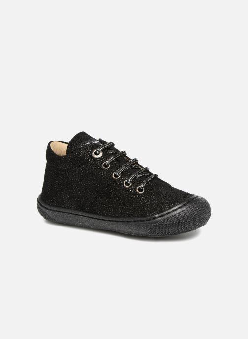 Chaussures à lacets Naturino Cocoon Noir vue détail/paire
