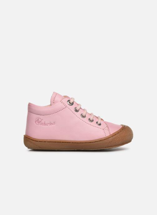 Zapatos con cordones Naturino Cocoon Rosa vistra trasera