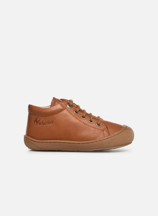Lace-up shoes Naturino Cocoon Brown back view