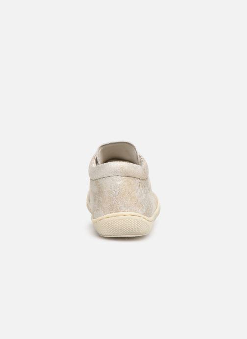 Chaussures à lacets Naturino Cocoon Beige vue droite