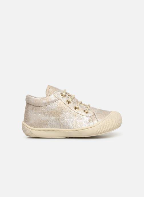 Chaussures à lacets Naturino Cocoon Beige vue derrière