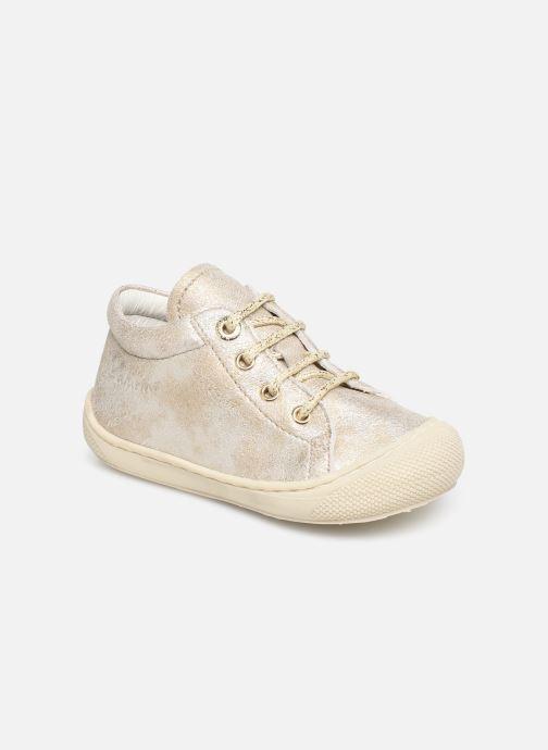 Chaussures à lacets Naturino Cocoon Beige vue détail/paire